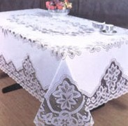 Cleaning for antique table linens, quilts, tapestries, draperies